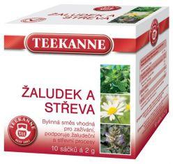 TEEKANNE bylinný čaj - žalúdok a črevá, 10 sáčkov
