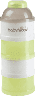 BABYMOOV Dávkovač sušeného mléka, Green/Brown