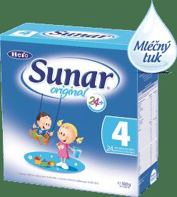 Sunar original 4 (500 g) - kojenecké mléko