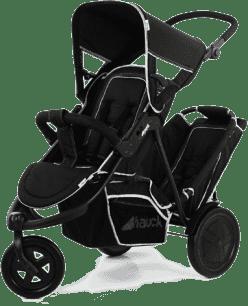 HAUCK Kočárek pro dvojčata a sourozence Freerider SH12 black 2016