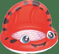 BESTWAY Nafukovací bazén so strieškou, priemer 97 cm x 66 cm – červený