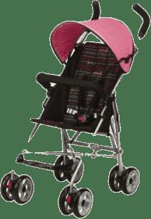 G-MINI Wózek spacerowy, daszek różowo-czerwony
