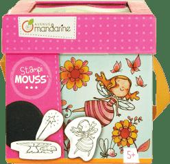AVENUE MANDARINE Detské pečiatky s omaľovánkami Víly