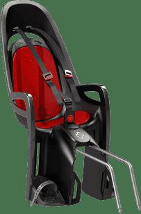 HAMAX Caress Zenith Cyklosedačka s neuzamykatelným zámkem - šedá/červená