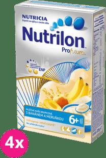 4x NUTRILON ProFutura meruňka banán (225g) – mléčná kaše