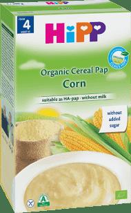 HIPP Obilná kaše kukuřičná (200 g) - nemléčná kaše