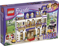 LEGO® Friends Hotel Grand v městečku Heartlake