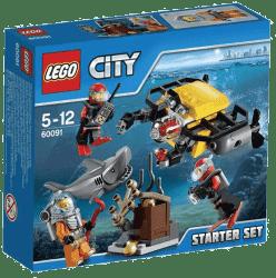 LEGO® City Deep Sea Explorers Hlbinný morský výskum: štartovacia sada