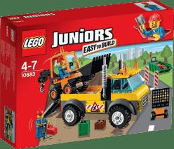LEGO® Juniors Ciężarówka do robót drogowych