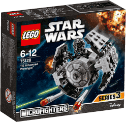 LEGO® Star Wars (tm) TIE Advanced Prototype™