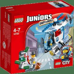 LEGO® Juniors Prenasledovanie s policajnou helikoptérou