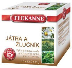 TEEKANNE bylinný čaj - pečeň a žlčník, 10 sáčkov