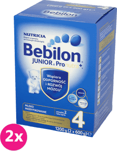 2x BEBILON Junior 4 (1200g)