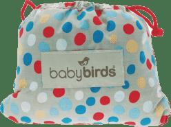 BABYBIRDS Kapesní sedátko - River Stone