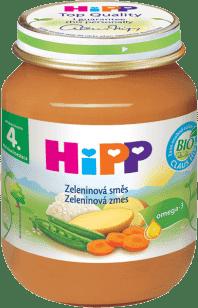 HIPP BIO zeleninová směs (125 g) - zeleninový příkrm