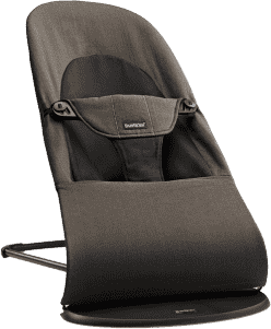 BABYBJÖRN Balance ležadlo SOFT Black / Brown ORG