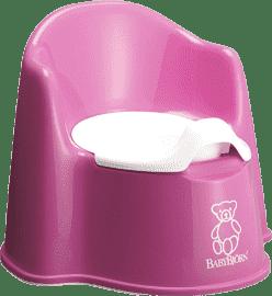 BABYBJÖRN Nočník-kresielko Pink ružový