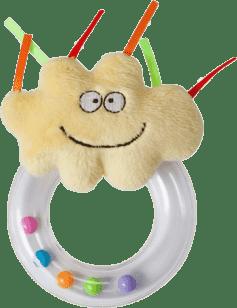 TAF TOYS Grzechotka pierścień - chłopiec