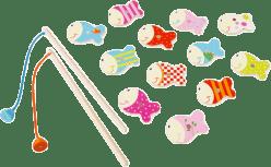 SCRATCH Magnetická hra Veselé rybičky