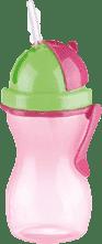 TESCOMA Detská fľaša so slamkou BAMBINI 300 ml – dievča