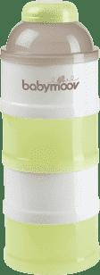 BABYMOOV Dávkovač sušeného mlieka, Green / Brown