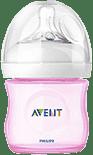 AVENT Butelka 125 ml Natural PP różowa