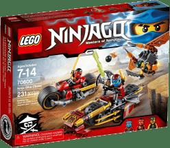 LEGO® Ninjago Naháňačka nindža motoriek