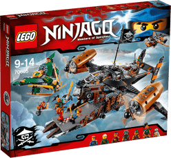 LEGO® Ninjago Smolná tvrz
