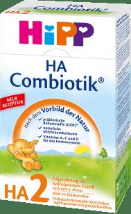 HIPP HA 2 Combiotik (500g) – kojenecké mléko