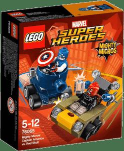 LEGO® Super Heroes Mighty Micros: Kapitan Ameryka kontra Red Skull