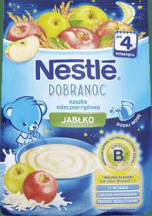 NESTLÉ Kaszka Dobranoc mleczno-ryżowa jabłko (230g)