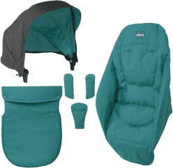 CHICCO Urban doplnky 14 emerald