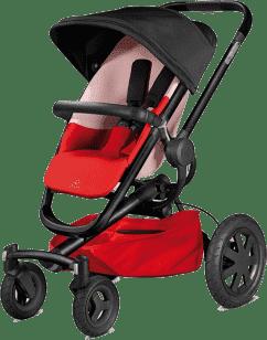 QUINNY Buzz Xtra 4-kołowy Wózek – Reworked Red
