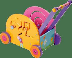 BOIKIDO Drewniana zabawka interaktywna, Mój pierwszy pojazd Myszka