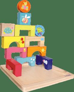 BOIKIDO drevené Puzzle 4 Ročné obdobia