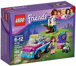 LEGO® Friends Olivie a jej prieskumné auto