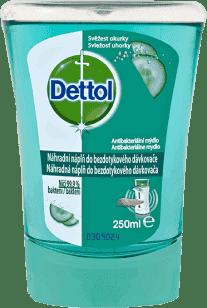 DETTOL Náplň do bezdotykového dávkovača - sviežosť uhorky 250 ml