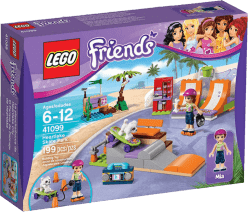 LEGO® Friends Skatepark v mestečku Heartlake