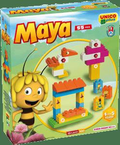 UNICO Pszczółka Maja Zestaw klocków w pudełku 55 szt.