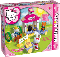 UNICO Hello Kitty Stavebnica - Jazdiareň 41ks