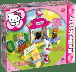 UNICO Hello Kitty Zestaw klocków – Stadnina – 41 szt.