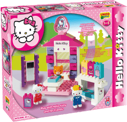 UNICO Hello Kitty Zestaw klocków – Salon mody - 44 szt.