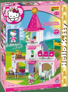 UNICO Hello Kitty Stavebnice – Velký zámek 171ks