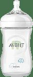 AVENT Butelka 260 ml Natural PP słoń - zielona