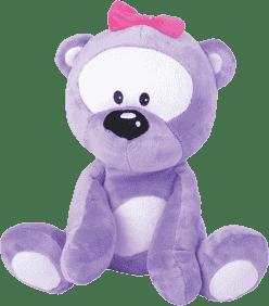 MIKRO TRADING Medvedík fialový v tme svieti
