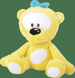 MIKRO TRADING Medvedík žltý v tme svieti