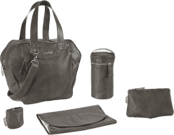 BABYMOOV Torba do przewijania City Bag Zinc