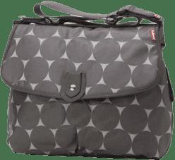 BABYMEL Prebaľovacia taška Satchel Jumbo Dot Grey