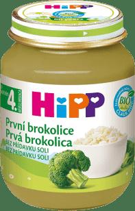 HIPP BIO detský príkrm Prvá brokolica 125g