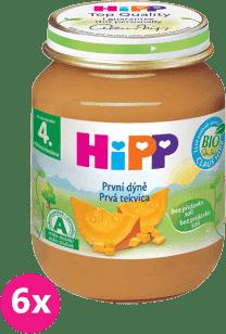 6x HIPP BIO První dýně (125 g) - zeleninový příkrm
